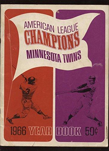 1966 Minnesota Twins Yearbook Vgex - 1966 Twins Minnesota