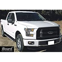 "5"" iBoard Running Boards Fit 15-17 Ford F-150 Super Cab Nerf Bar Side Steps Tube Rail Bars Step Board"