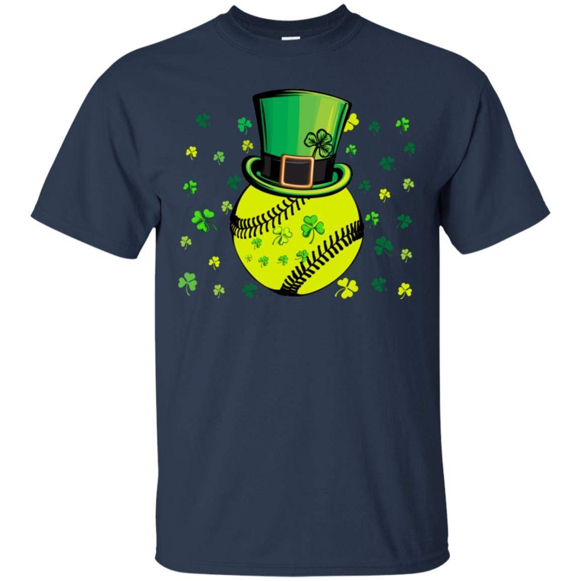 TeeAbelia Softball with Chapeau Patrick Irish Shirt