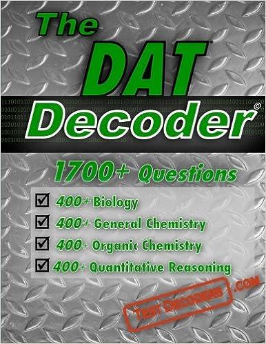 Amazon com: The DAT Decoder: A comprehensive test preparation