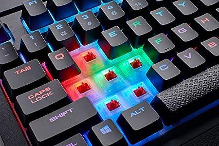 Corsair k68 rgb tastiera meccanica gaming : ottimi i materiali e l