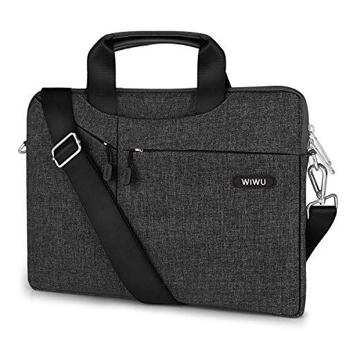 15.6 Inch Laptop Shoulder Bag, 360° Protective Sleeve Compatible with 15-15.6 Dell HP Acer Lenovo Chromebook Notebook (Hp Laptop Best Price In India)