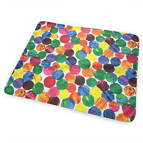 Dy27sdsmat The Very Hungry Caterpillar Abstract Dots Portable Diaper Changing Pad - Makes Any Surface A Changing Station - Great Baby Showers - Ideal Your Infant, Newborn Toddler ()