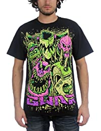 Authentic GWAR Band Faces Oderus Urungus T-Shirt 2XL NEW