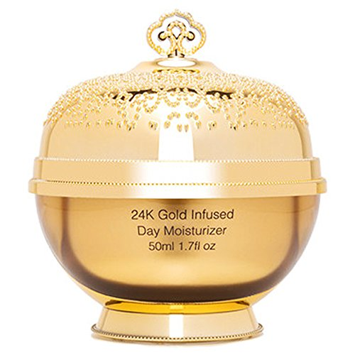 Le Royal 24k Gold Anti-Aging, Hydrating and Nourishing Infused Day Moisturizer, 1.7 fl. oz.