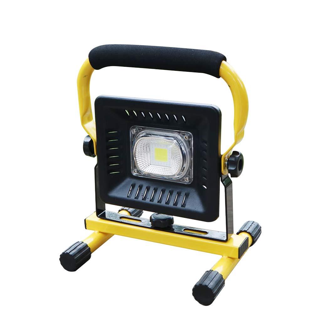 ZZ werkstattlampe LED-Scheinwerfer-Flutlicht, wiederaufladbare Mobile tragbare Website Notbeleuchtung Outdoor Zelt Camping Licht nach Hause