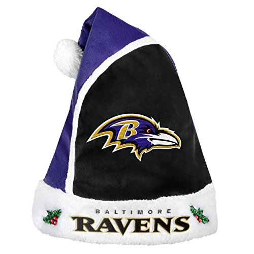 NFL Baltimore Ravens Basic Santa -