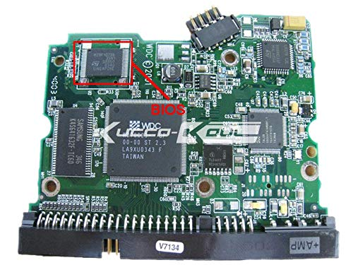 KIMME HDD PCB Circuit Board 2060-001102-003 REV A for WD 3.5 IDE//PATA Hard Drive Repair Data Recovery