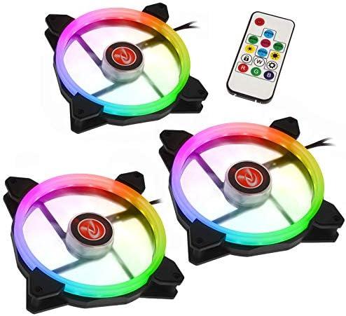 Raijintek 0R400050 - Ventilador para Ordenador, Color Negro y Rojo: Amazon.es: Informática