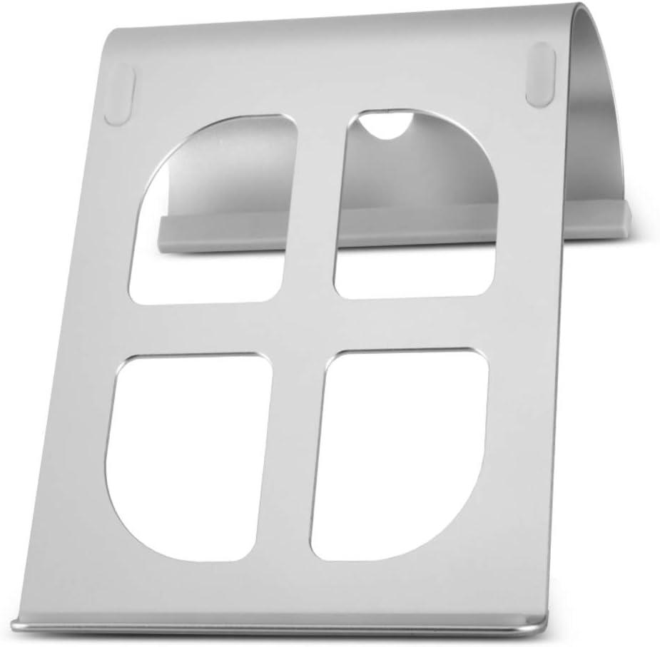 Desk Organizer Tiltable Ergonomic Multifunction Ventilation for All comptuers-B 28x18.9cm Portable Anti-Slip Laptop Stand 11x7inch