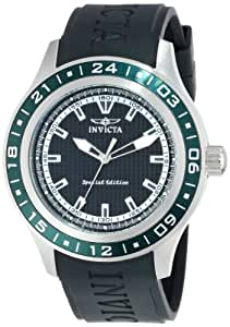 "Invicta Men's 15226 ""Specialty"" Green Stainless Steel and Polyurethane Watch"