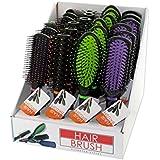 Bulk Buys OD842-24 Stylish Hair Brush Countertop Display