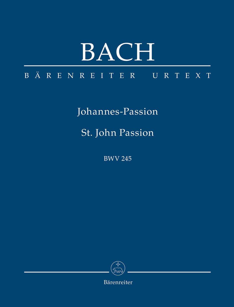 Johannes-Passion BWV 245. BÄRENREITER URTEXT. Studienpartitur, Urtextausgabe (Englisch) Musiknoten – 22. April 2014 Johann Sebastian Bach Arthur Mendel Walter Heinz Bernstein Baerenreiter-Verlag