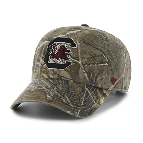 - '47 NCAA South Carolina Fighting Gamecocks Adult Clean Up Realtree Adjustable Hat, One Size, Realtree Camo