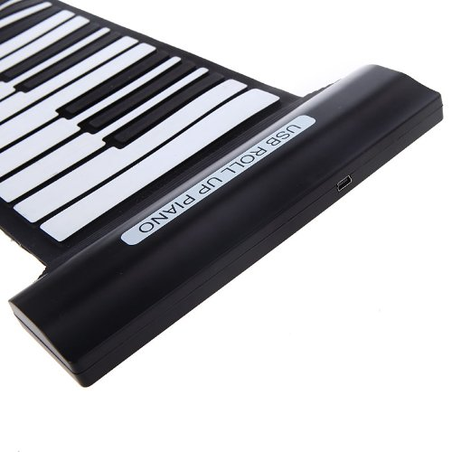 CHICHO 88 Keys Professional Flexible USB Roll-up Electronic Piano Keyboard CHIG2578