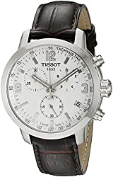 Tissot Men's T0554171601701 Analog Display Quartz Brown Watch