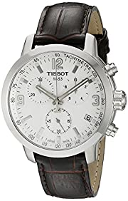Tissot Men's T0554171601701 Analog Display Quartz Brown Watch