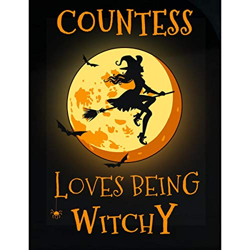 (Inked Creatively Countess Loves Being Witchy Sticker)