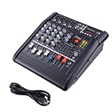 KOVAL INC.- 4-Channel Powered Mixer Audio Digital Sound Console