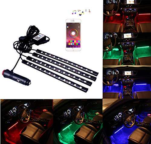 Led Glow 7 Color Interior Lights - 8