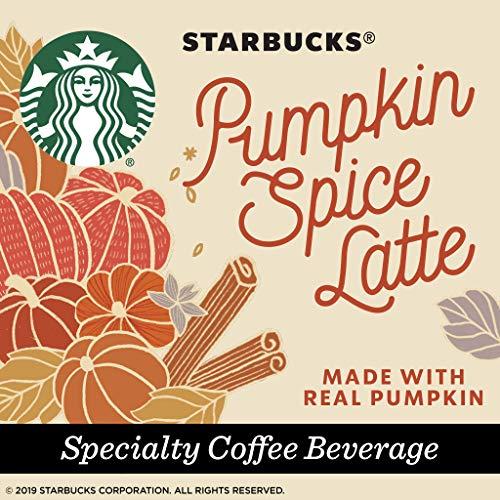 Brew Starbucks Pumpkin Spice Lattes at home with these K-Cups.