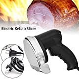 Professional Electric Doner Kebab Slicer Gyros Knife Cutter Meat 80W Chicken Carver Machine