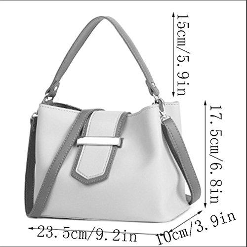 Black Bag Color Square Multifunction Small Bag Pu Bag Pure Handbags Fashion Leather Messenger Handbags Women's Handbag Shoulder Women Shoulder pAnHU