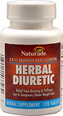 Naturade Herbal Diuretic -- 120 Tablets