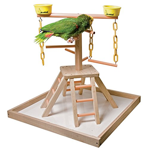 Acrobird PB24 Pyramid with Base Pet Toy, 24-Inch