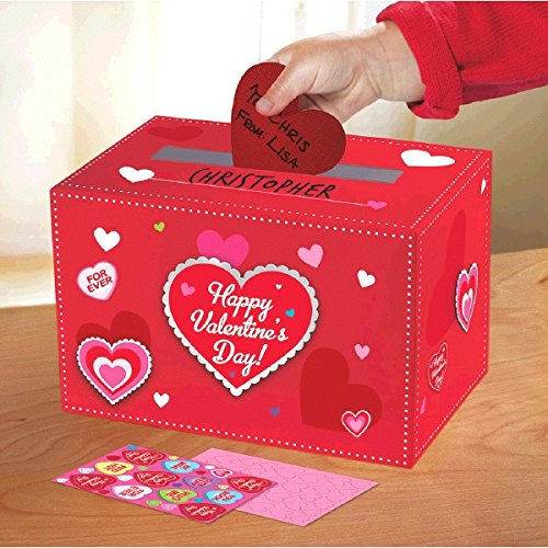 Amscan Adorable Valentine's Day Party Decorate Mailbox, Multicolor,