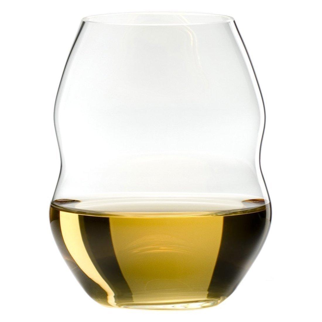 Riedel Swirl White Wine Glasses, Set of 4