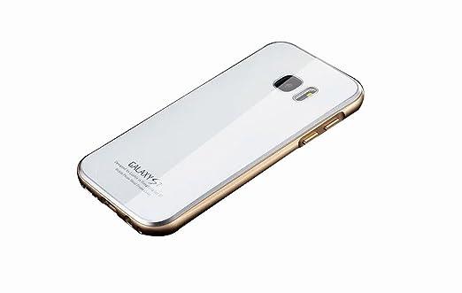 169 opinioni per Kepuch Samsung Galaxy S7 Metallo Case- Ultra Sottile All Inclusive Metallo Vetro