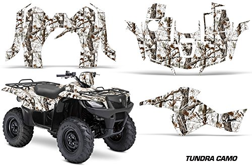 AMR Racing Graphics Kit for ATV Suzuki King Quad 500AXi 2013-2016 TUNDRA CAMO