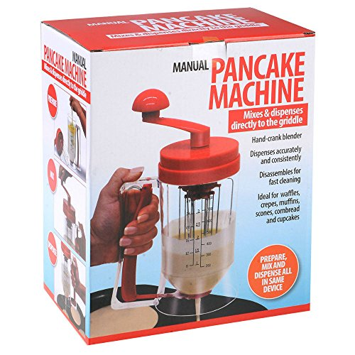 New Manual Pancake Batter Dispenser Perfect Cupcakes Waffles Mixer Mix Breakfast from Unknown
