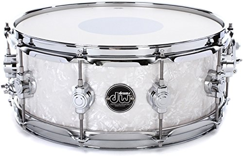 DW Performance Series Snare Drum - 5.5 Inches X 14 Inches White Marine Finish Ply by DW