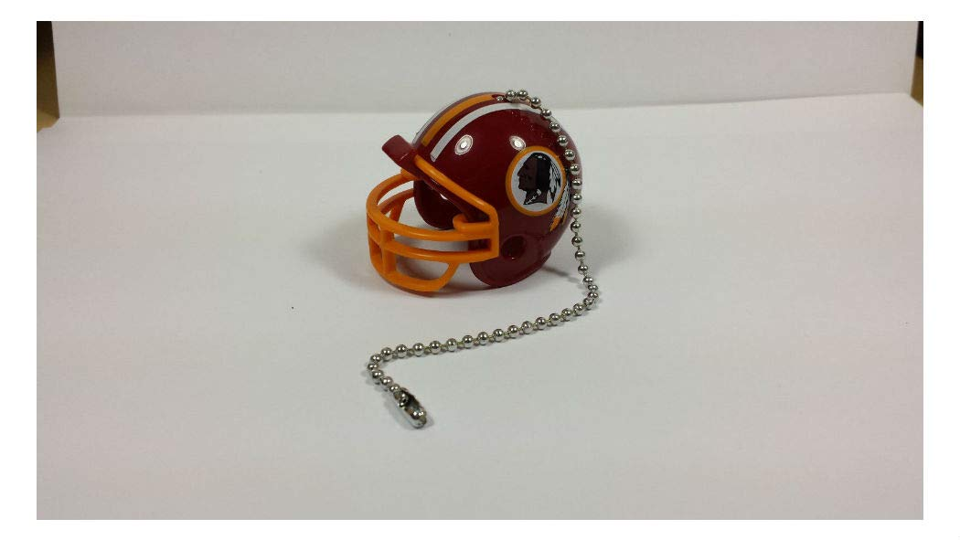 NEW Ceiling Fan Helmet Pull Chain Lamp Pull Chain Home Room Decors Souvenir Gifts (Washington Redskins)