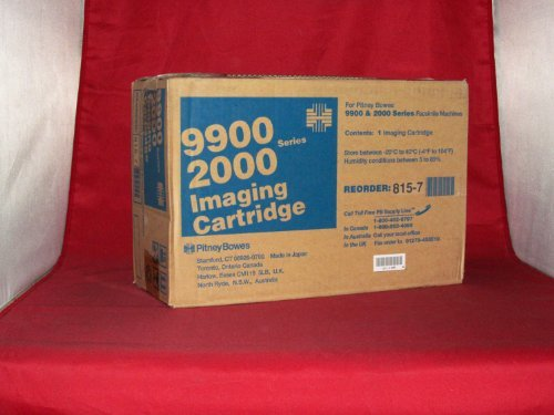 Pitney Bowes 9900 Series Toner Cartridge (15000 Page Yield) (815-7), Works for 9910, 9920, 9930, - Pitney Bowes 2030