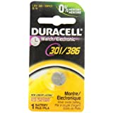 Duracell Watch-301 301/386 1.5V Watch/Electronic Battery, 1 Count