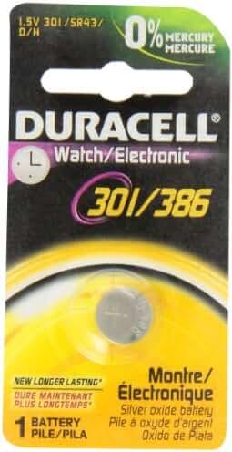 DURACELL D301/386B Watch/Calculator Battery