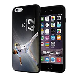 """Mariano Rivera Baseball #2295 iPhone 6 Plus (5.5"""") I6+ Case Protection Scratch Proof Soft Case Cover Protector by runtopwell"""