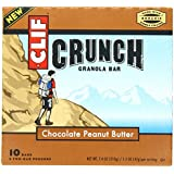 Clif Crunch Granola Bar Chocolate Peanut Butter (10 Two-Bar Pouches)