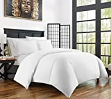 Zen Bamboo Ultra Soft 3-Piece Bamboo Derived Rayon Duvet Cover Set - Hypoallergenic and Wrinkle Resistant - Twin/Twin XL - White
