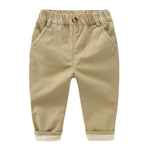 Weentop Pantalones Vaqueros de Mezclilla para niños Pantalones de ...