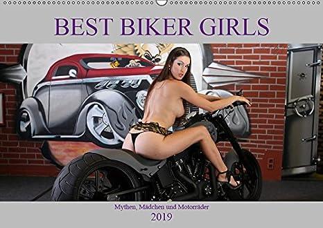 Best Biker Girls (Wandkalender 2019 DIN A3 quer): Mythen, Mädchen und Motorräder (Monatskalender, 14 Seiten ) (CALVENDO Mobilitaet) Andreas Comandante 3670106693 Technik / Sonstiges Erotik