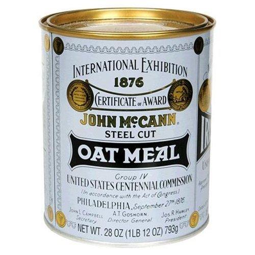 Mccann's Steel Cut Oatmeal, 28-Ounce Tin (Pack of 2)