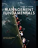 Bundle: Management Fundamentals: Concepts, Applications, Skill Development, 5th + Management CourseMate with EBook Printed Access Card, Lussier and Lussier, Robert, 1133159974