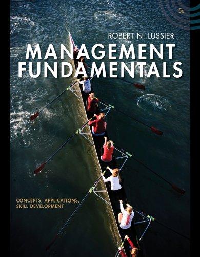 Bundle: Management Fundamentals: Concepts, Applications, Skill Development, 5th + Management CourseMate with eBook Print