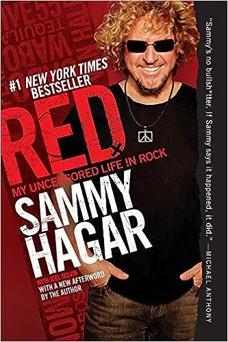 739a51c4e3b Red  My Uncensored Life in Rock  Sammy Hagar  9780062009296  Amazon.com   Books