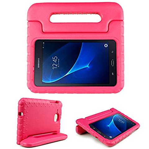 Galaxy TAB A / TAB J 7.0 Case - SIMPLEWAY Kids Shockproof Protective Convertible Handle Light Weight Stand Cover for Samsung Galaxy TAB A / TAB J 7.0 (Refurb Samsung Tablet)