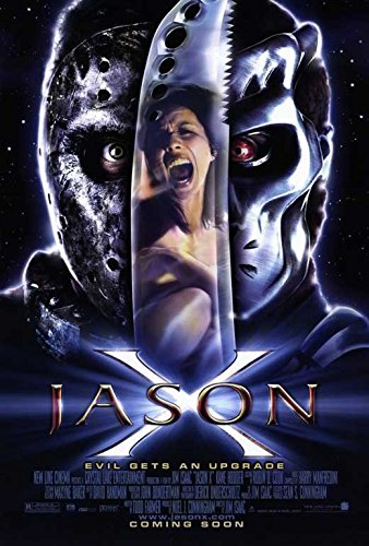 Jason X Poster Movie Lexa Doig Lisa Ryder Kane Hodder Jonathan Potts